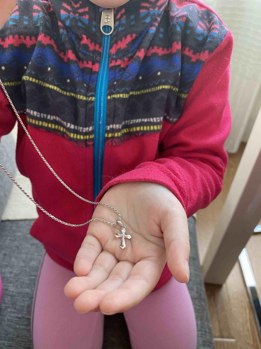 Крестик для детей
