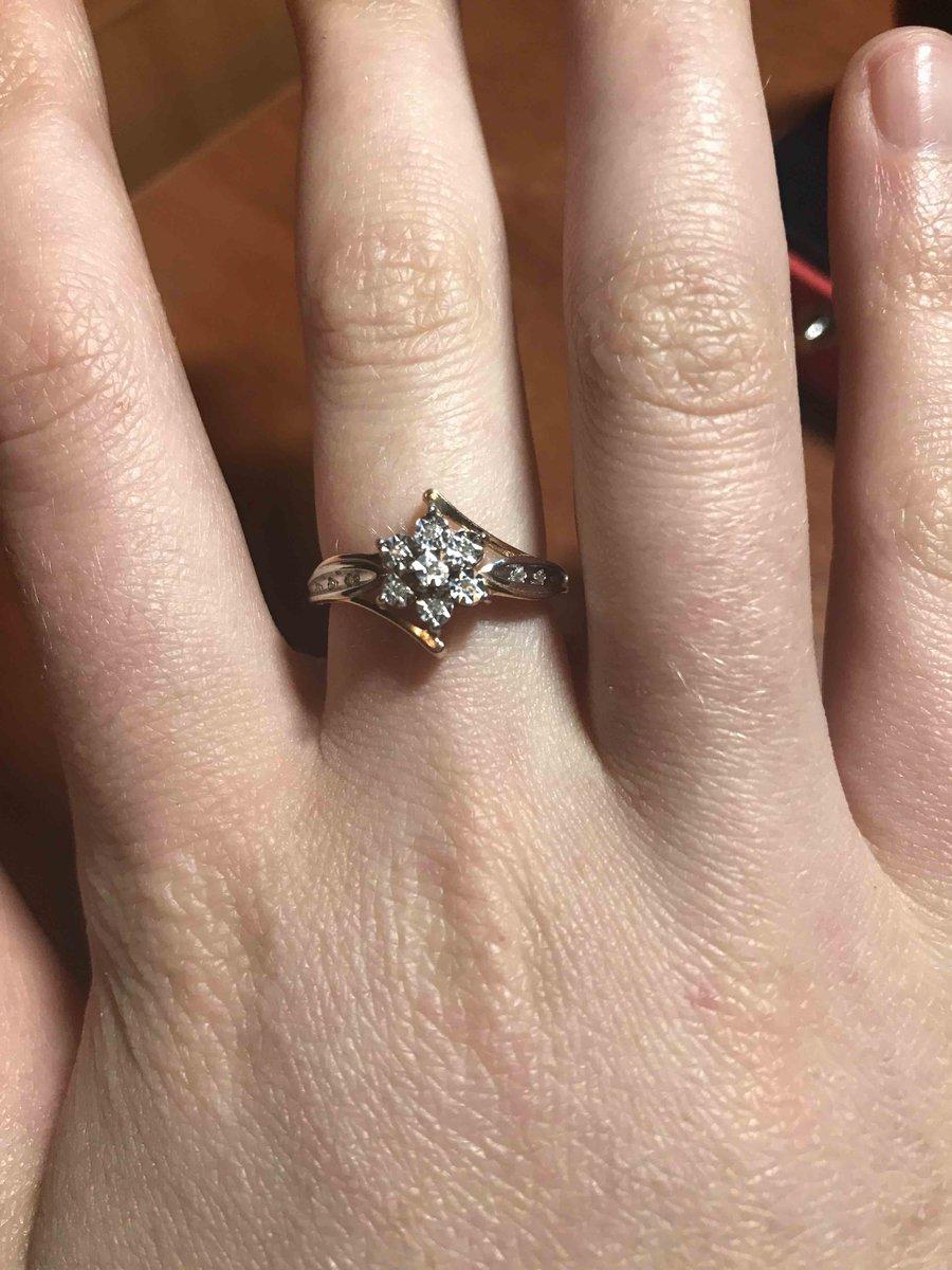 Влюбилась в кольцо с первого взгляда