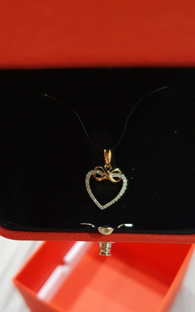 Сердце с бриллиантами