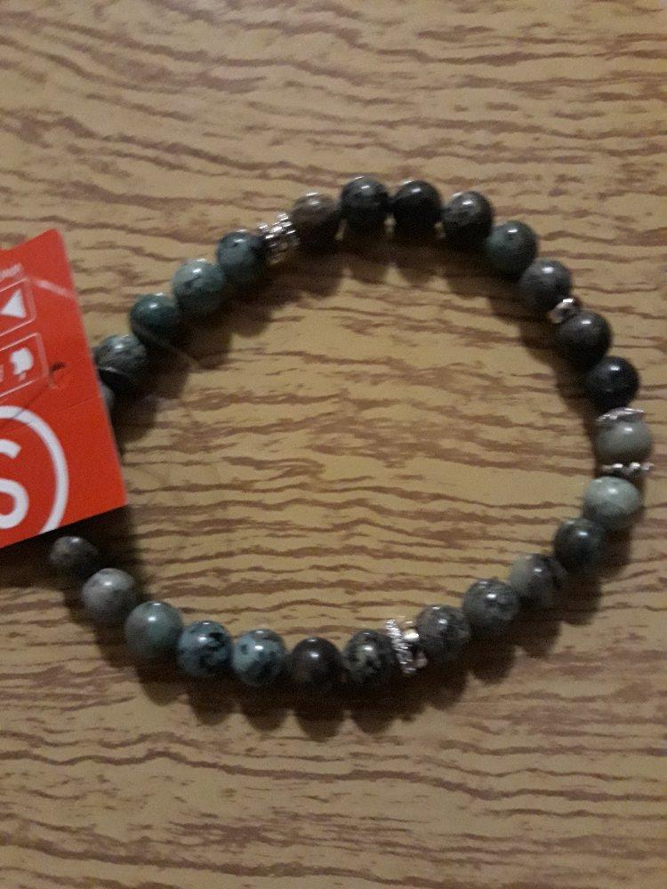 Серебрянный браслет с бирюзой!