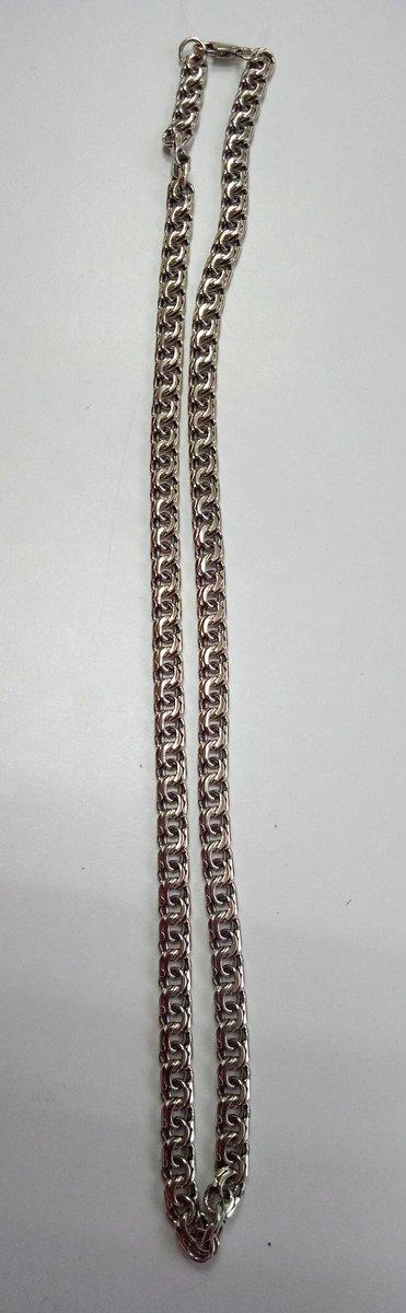 Цепочка серебро, с красивым и прочным плетением!