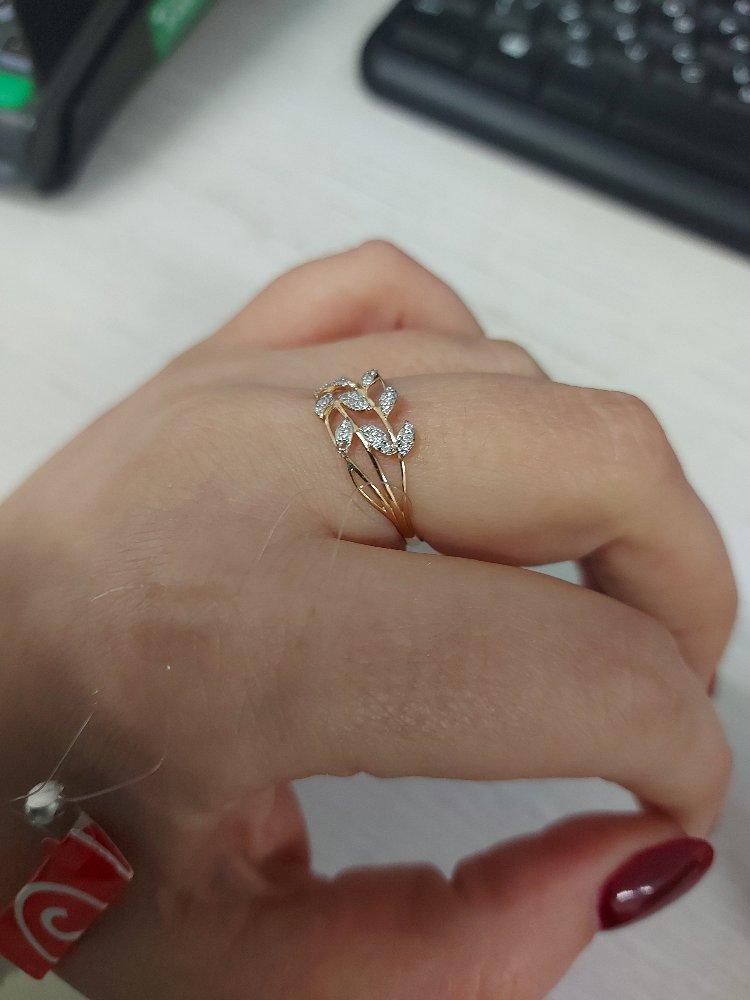 Очень милое, нежное кольцо.