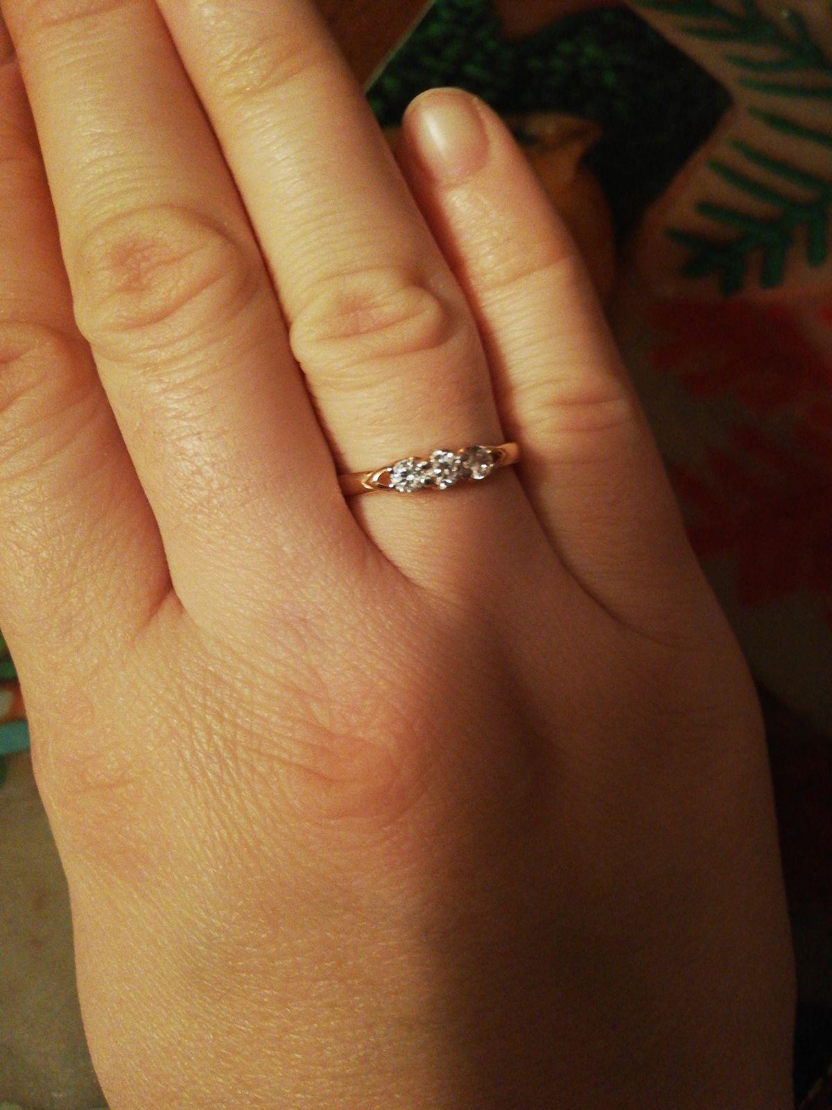Кольцо очень изысканное