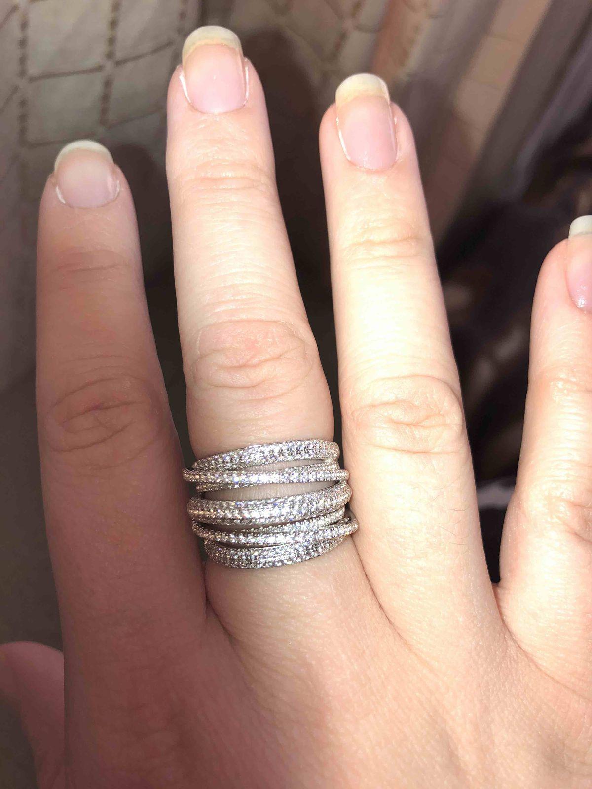 Кольцо серебрянное.