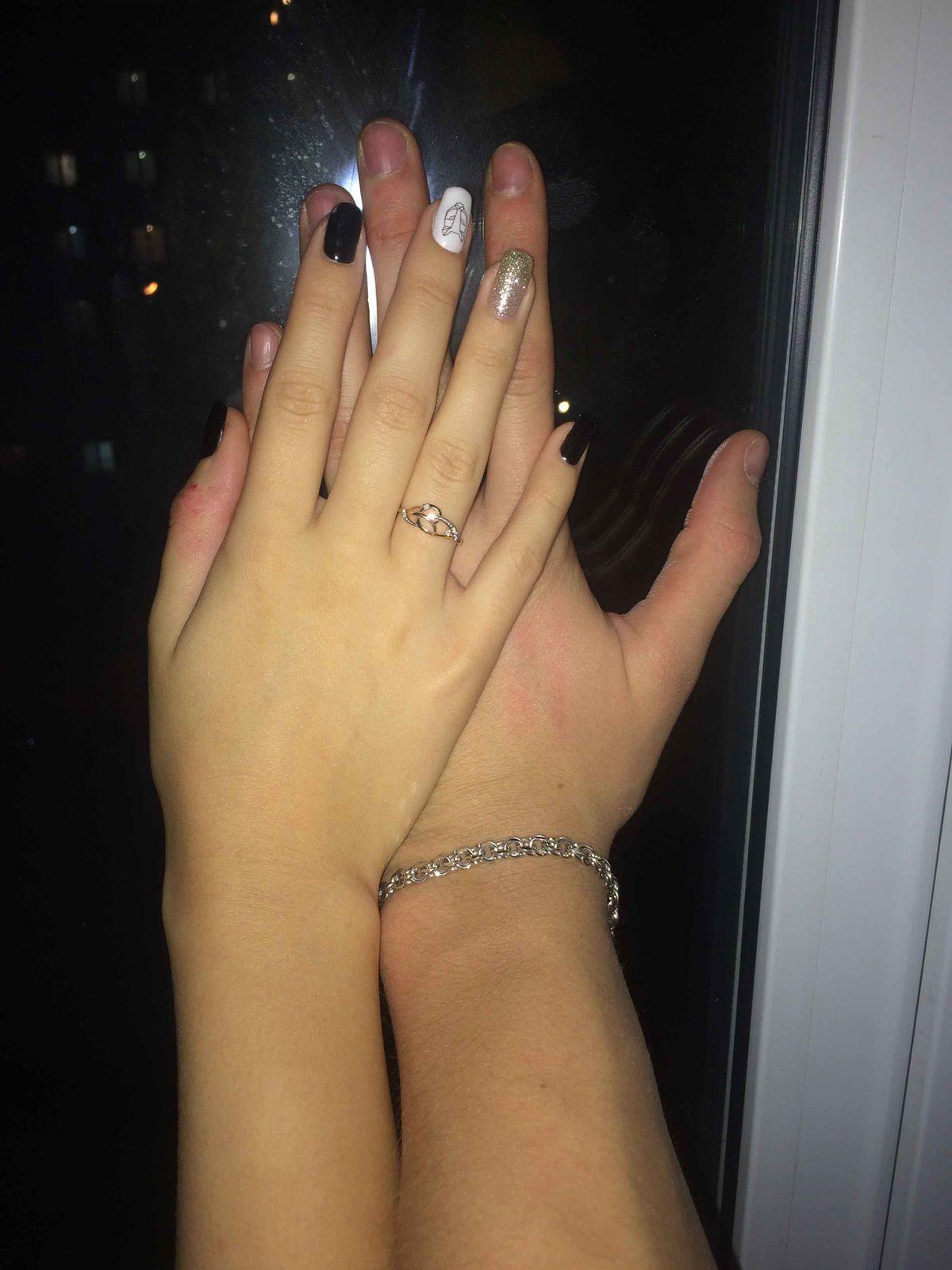 Красивый серебрянный браслет