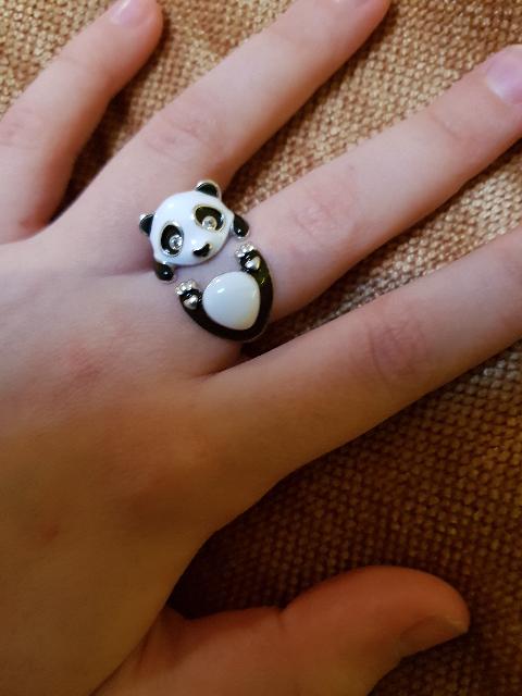 Кольцо-Панда