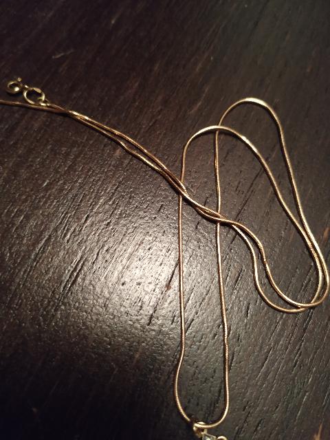 Золотая цепочка жгут