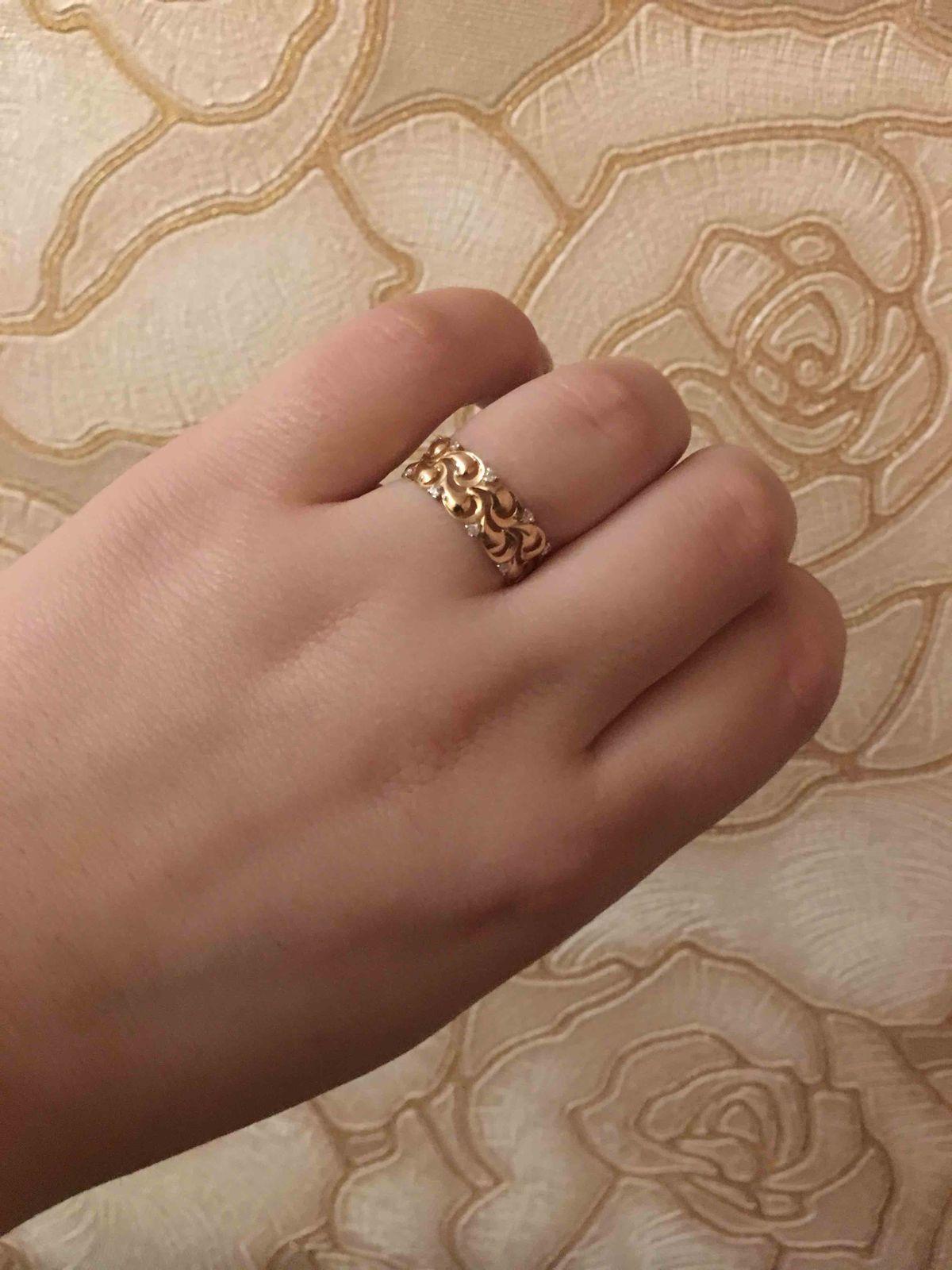 Кольцо просто идеальное 😍.