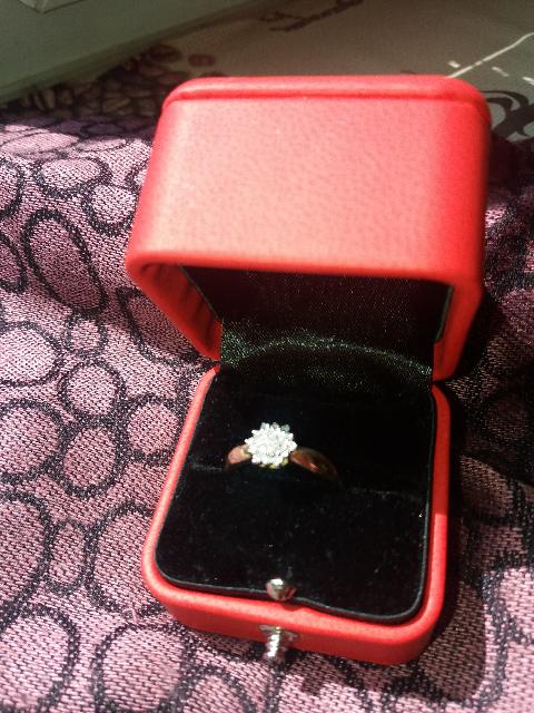 Бриллиантовый фейерверк в золоте!