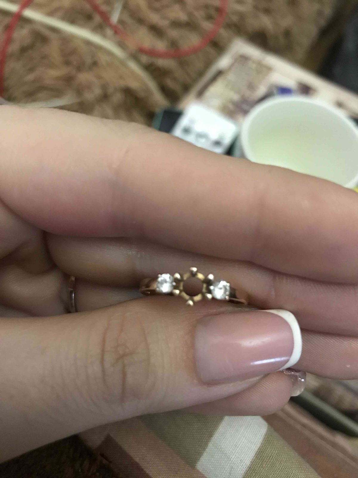 Кольцо не очень