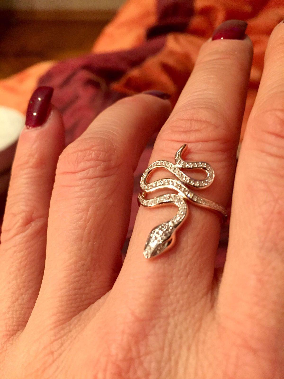 Кольцо-змейка