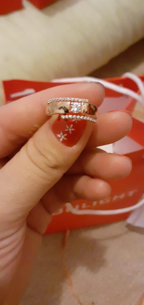 Очень красивый кольцо.