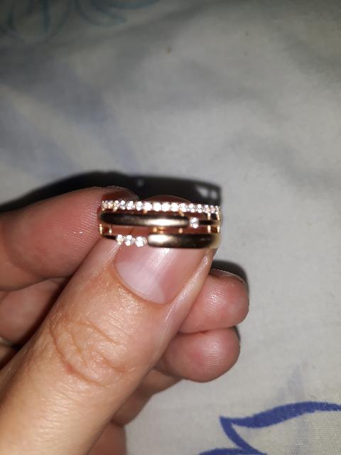 Кольцо 18 размера.