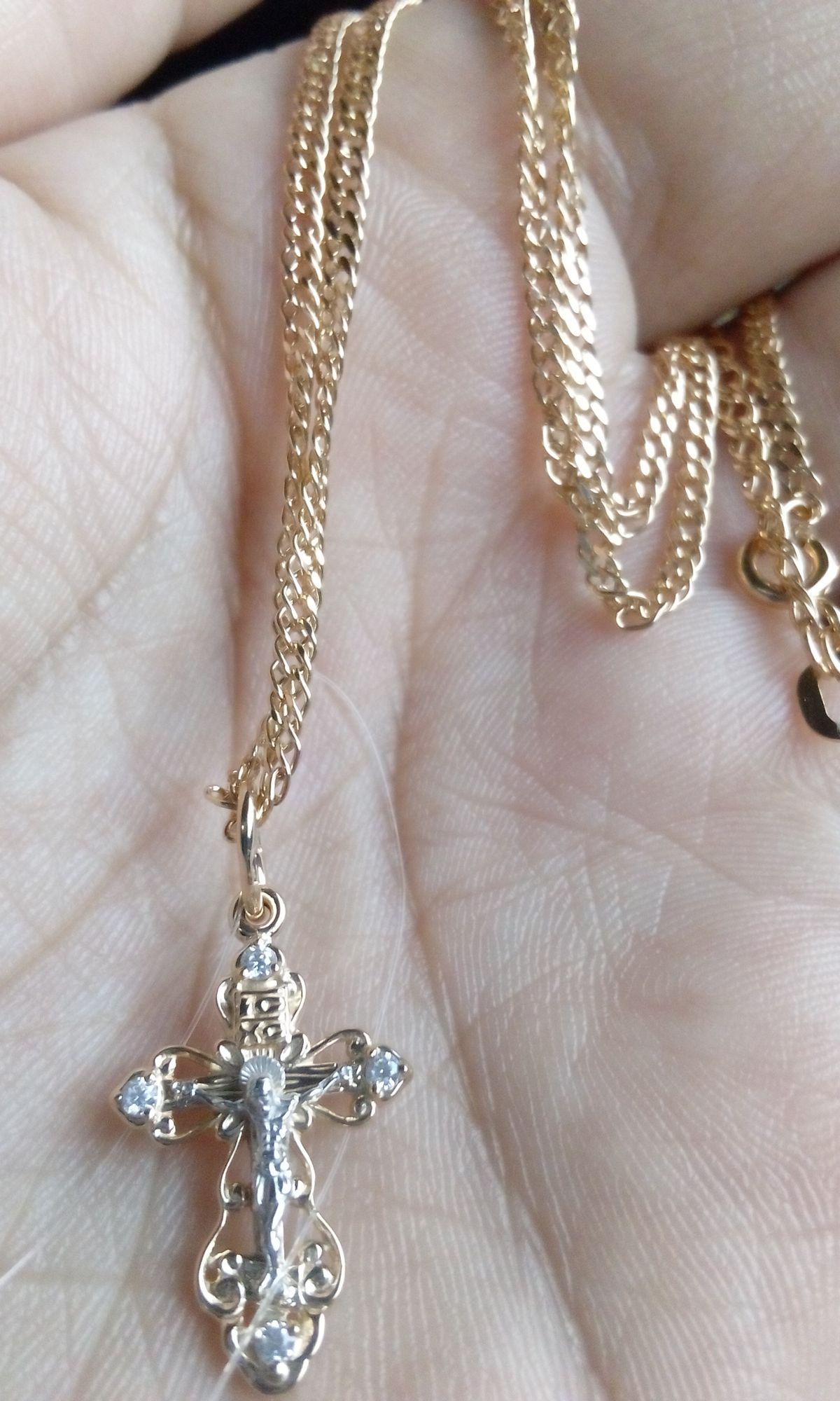 Крестик для крестин