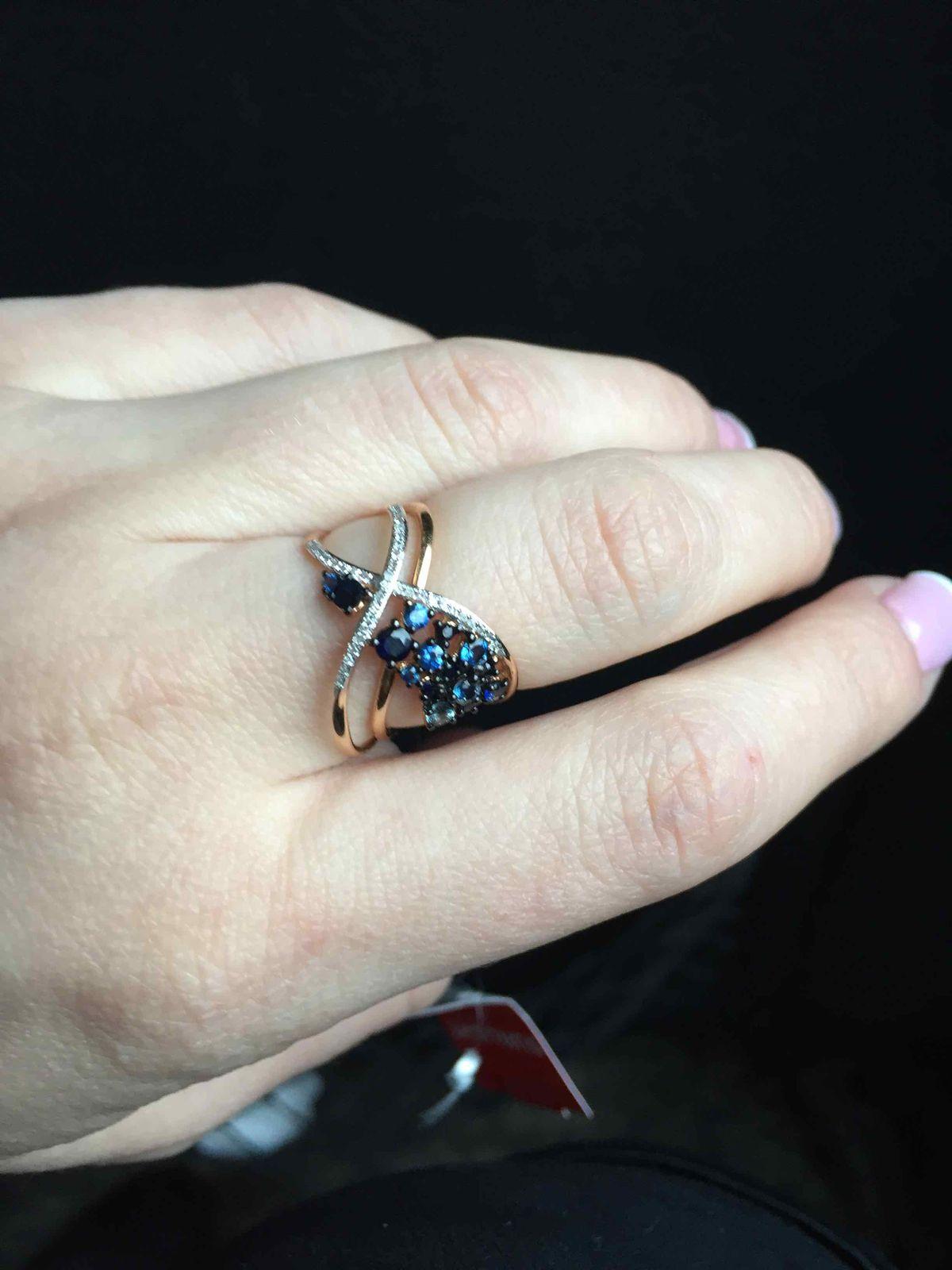 Нереально красивое и эффектное кольцо