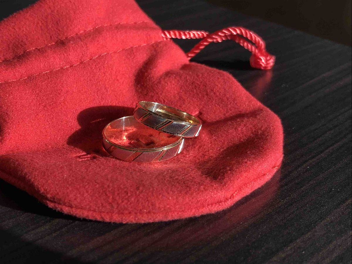 Потрясающие кольца!