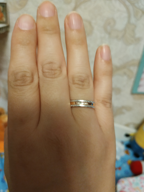 Обручальные кольцо для прекрасной дамы