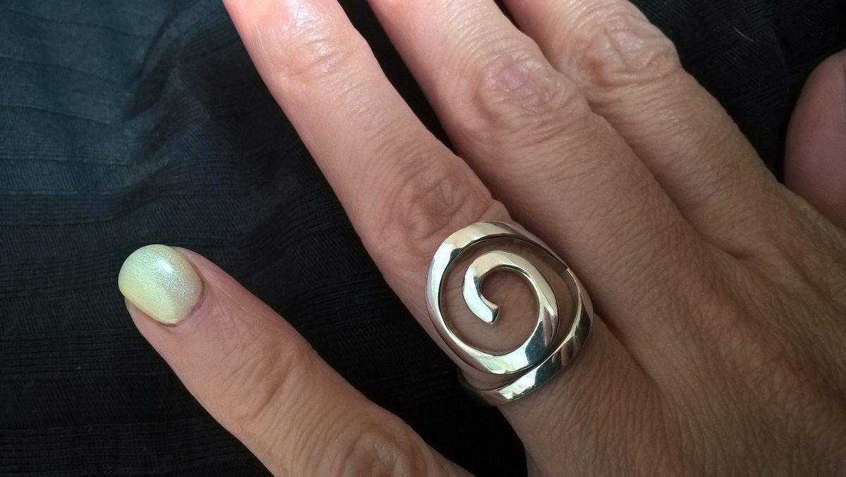 Кольцо - спираль
