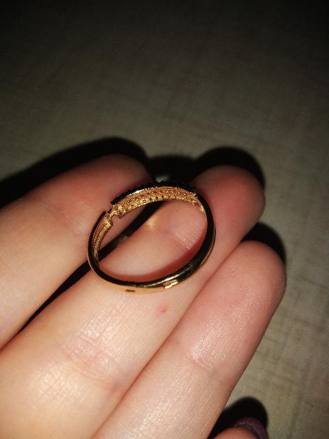 Теперь это любимое кольцо
