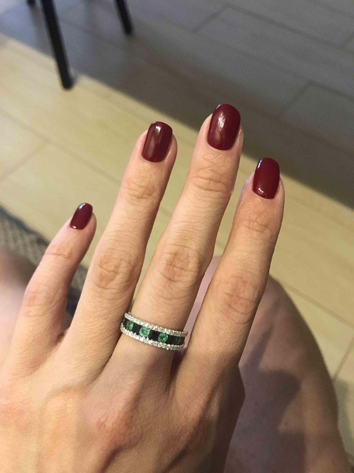 Необыкновенной красоты кольцо!