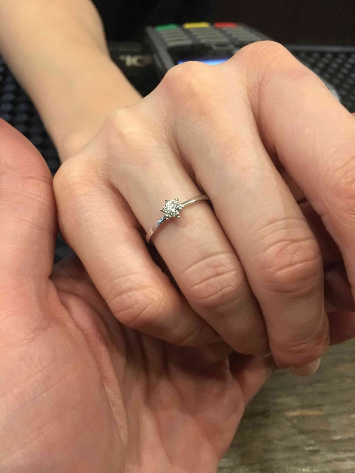 Она сказала Да!