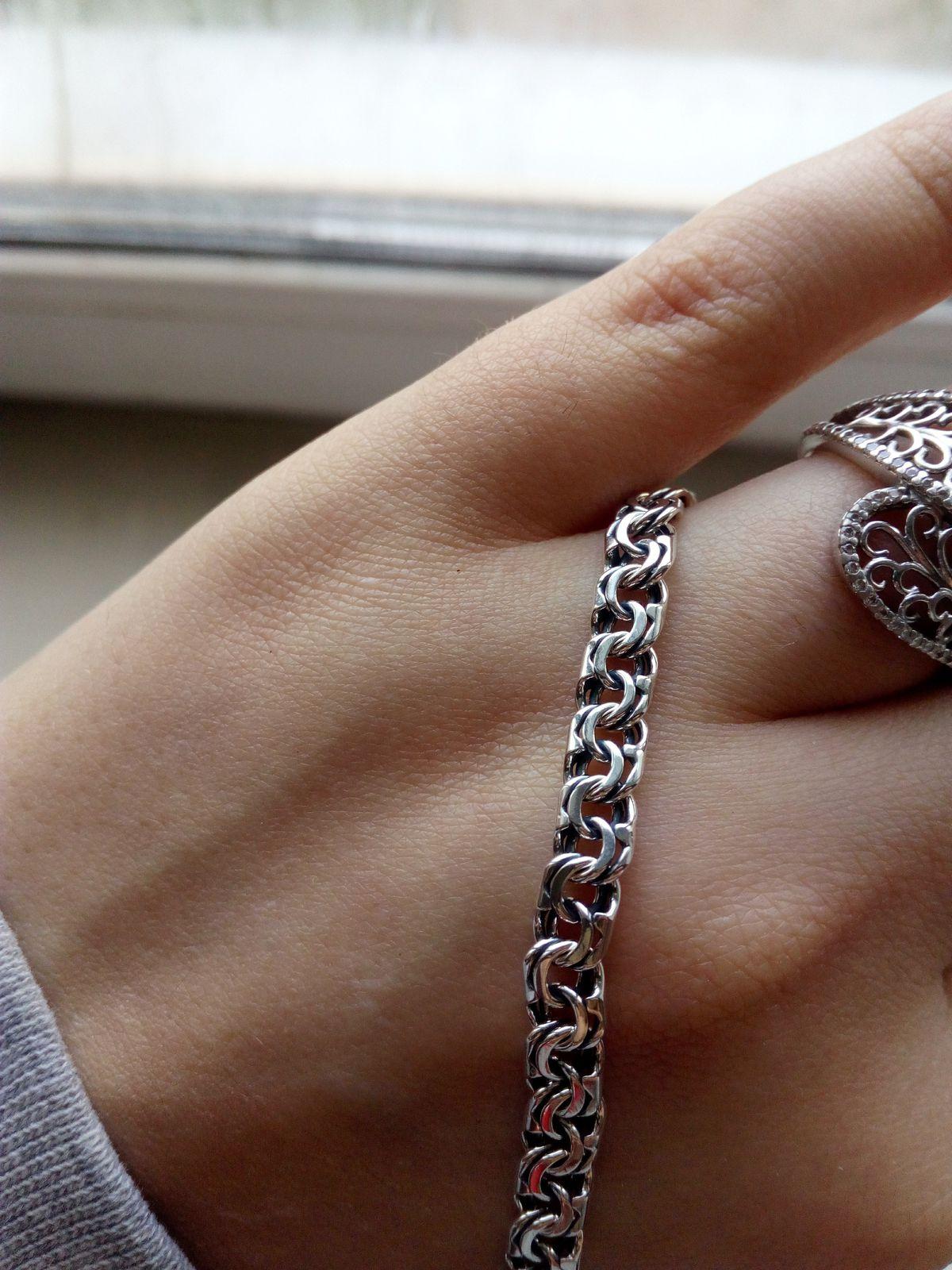 Серебрянный браслет SA-Kubachi