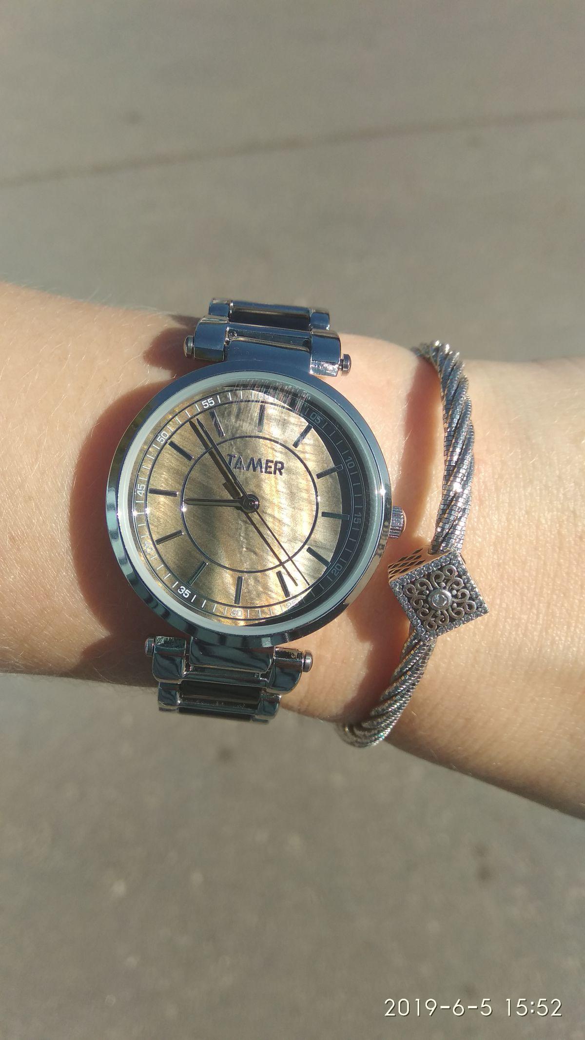 Мои первые часы)))