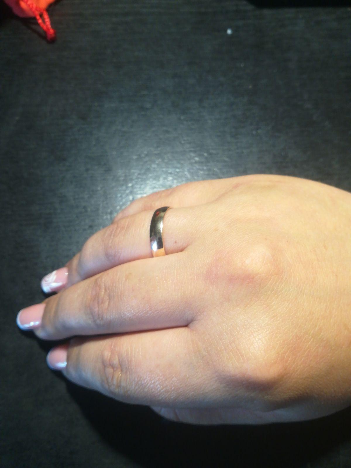 Кольцо абручальное