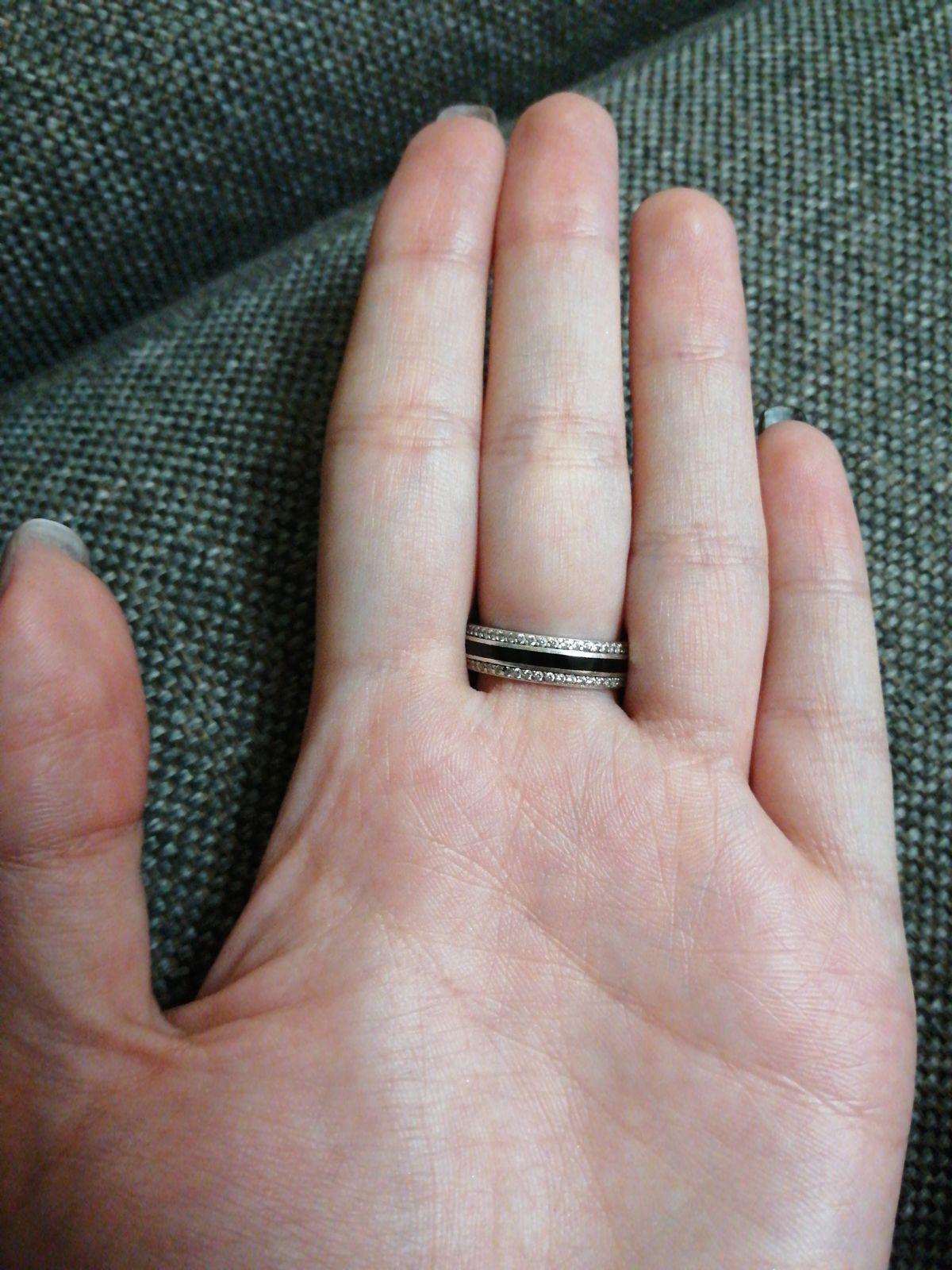 Кольцо с ювелирной эмалью