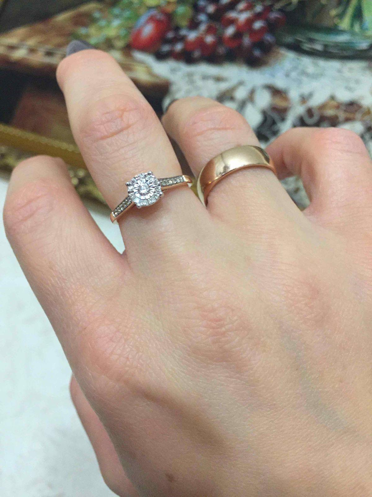 Очень красивое, нежное кольцо!