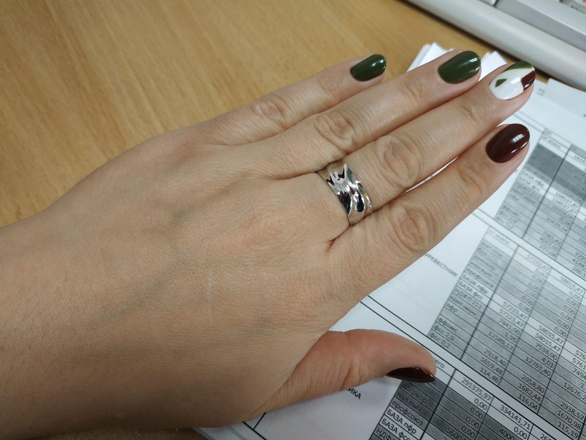 Красивое, но тонкое кольцо
