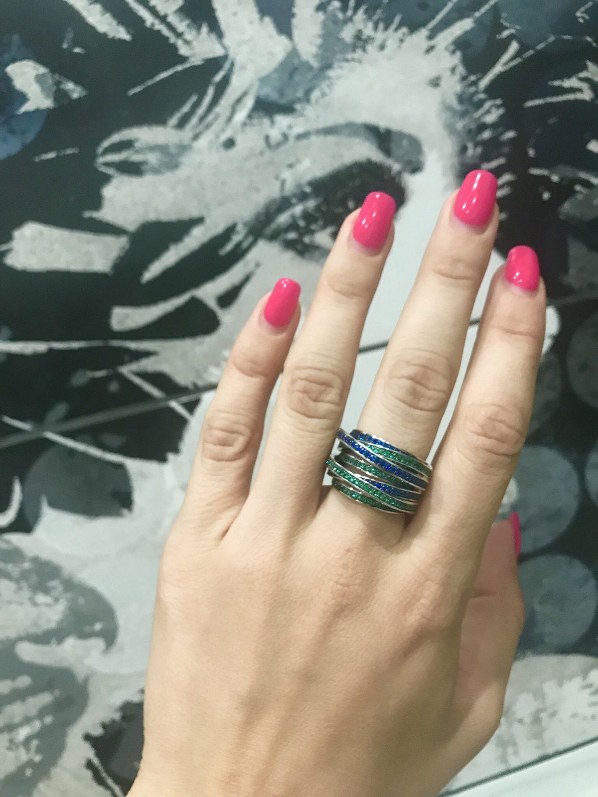 Невероятно красивое кольцо