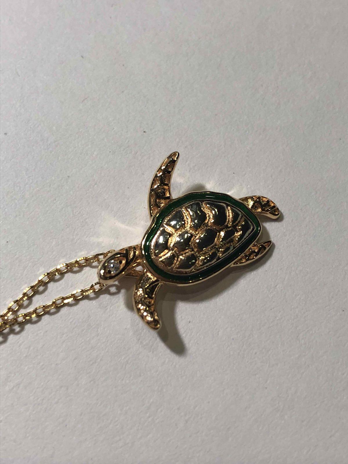 Морская черепашка.