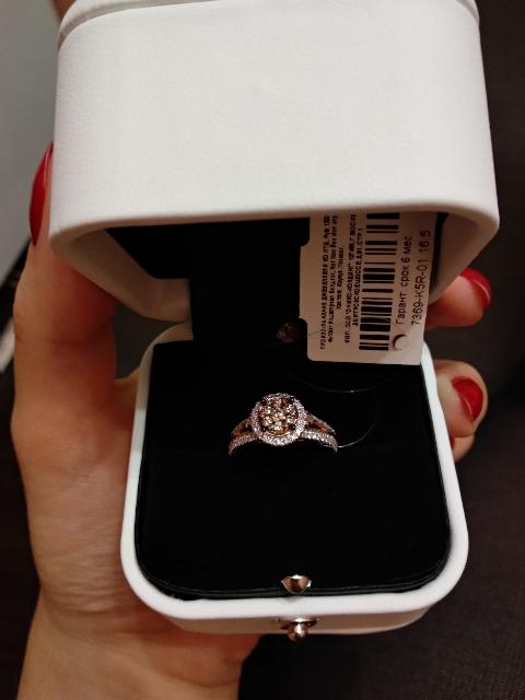 Нереально красивое кольцо!
