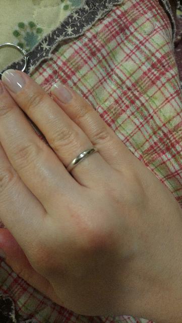 Обручальное кольцо белого золота