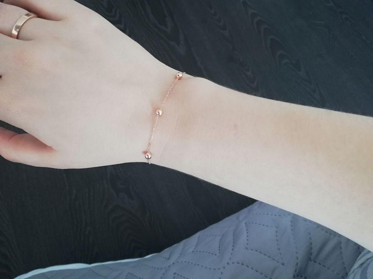 Очень красивый и нежный браслет