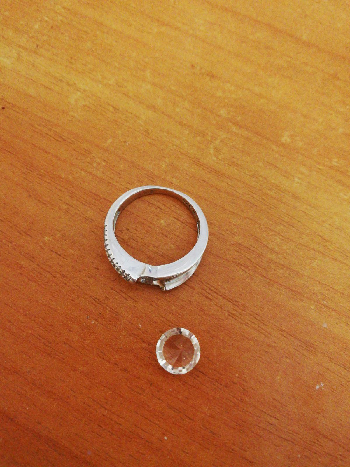 Кольцо купила в торговом центре