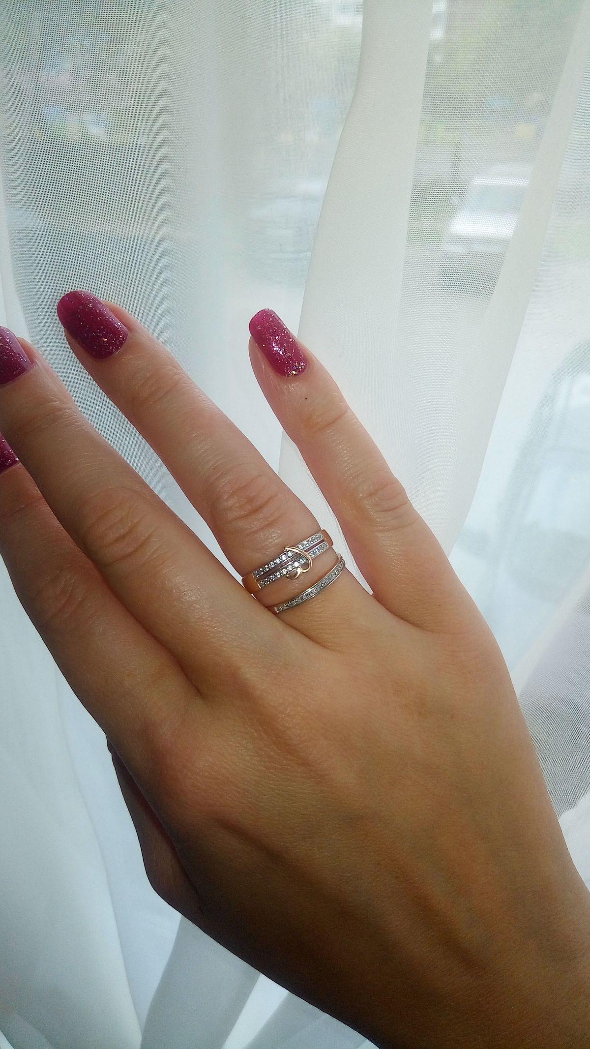 Отличное кольцо к годовщине свадьбы