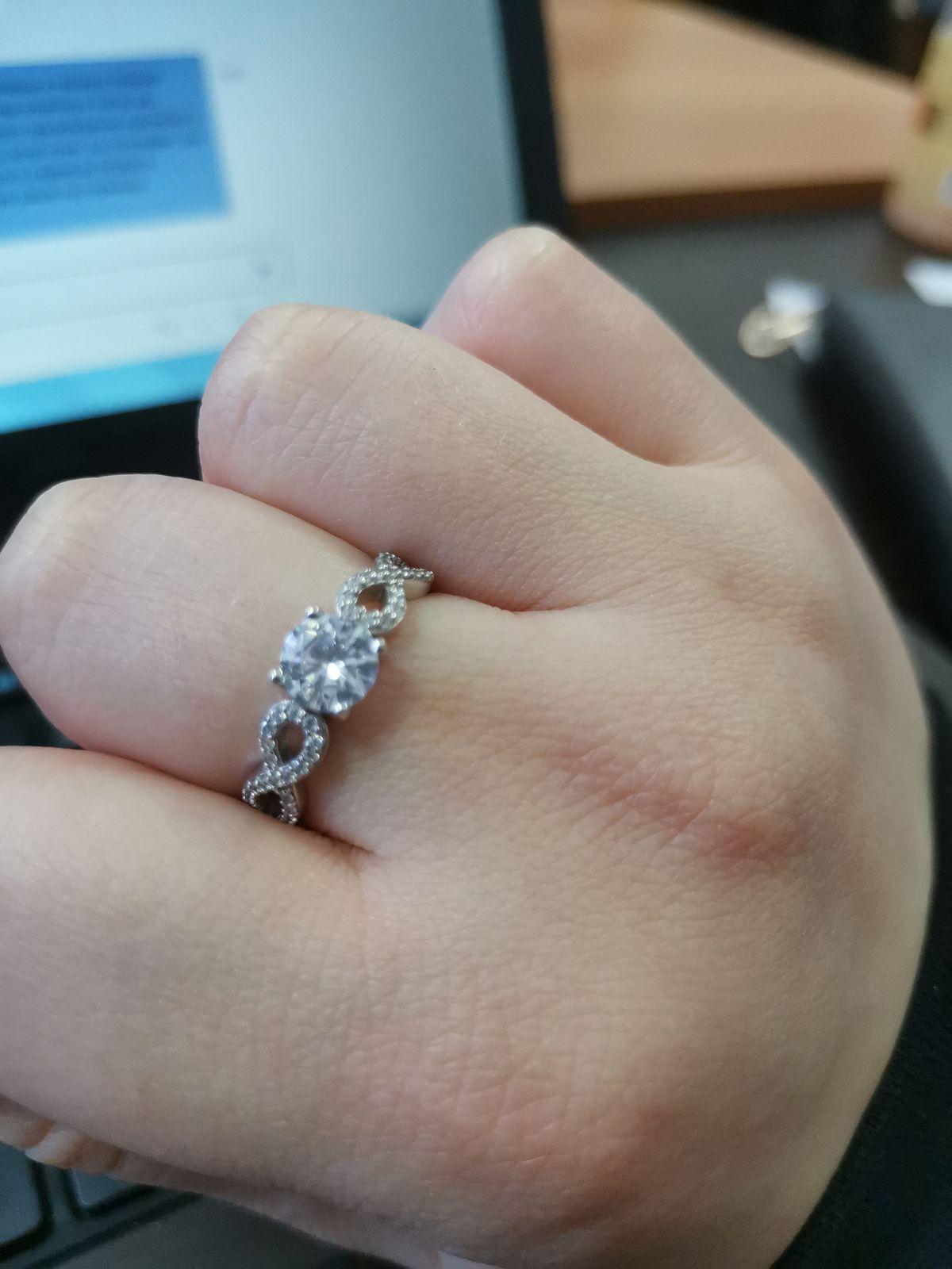 Купила кольцо себе