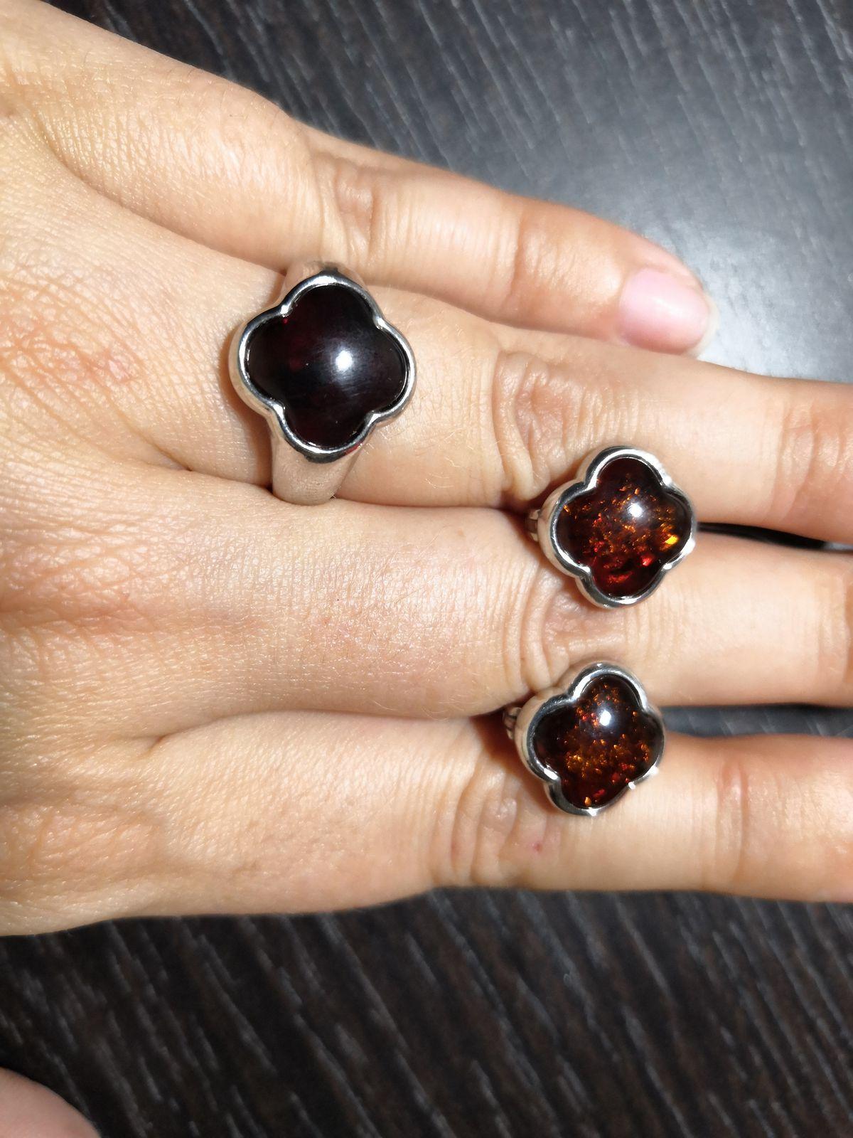 Кольцо-четырехлистник
