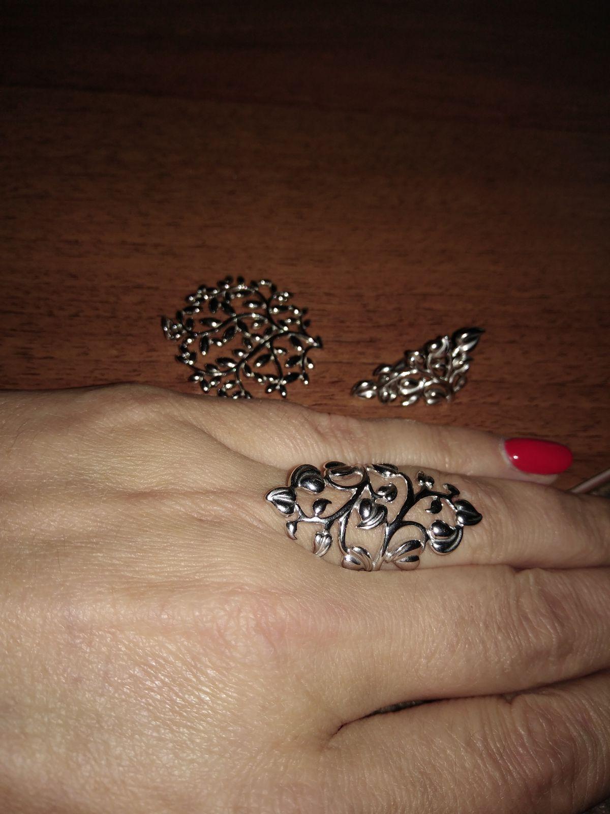 Кольцо серебро Sokolov.