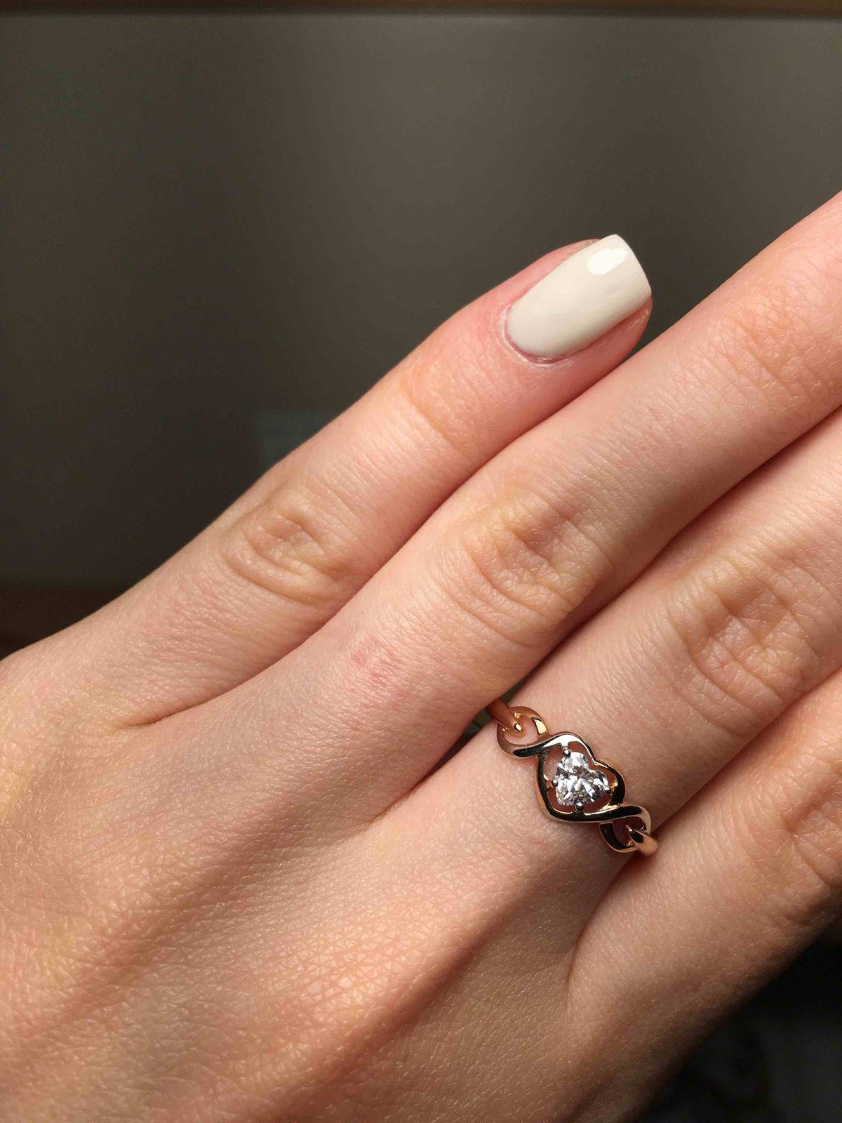 Милейшее кольцо в подарок.
