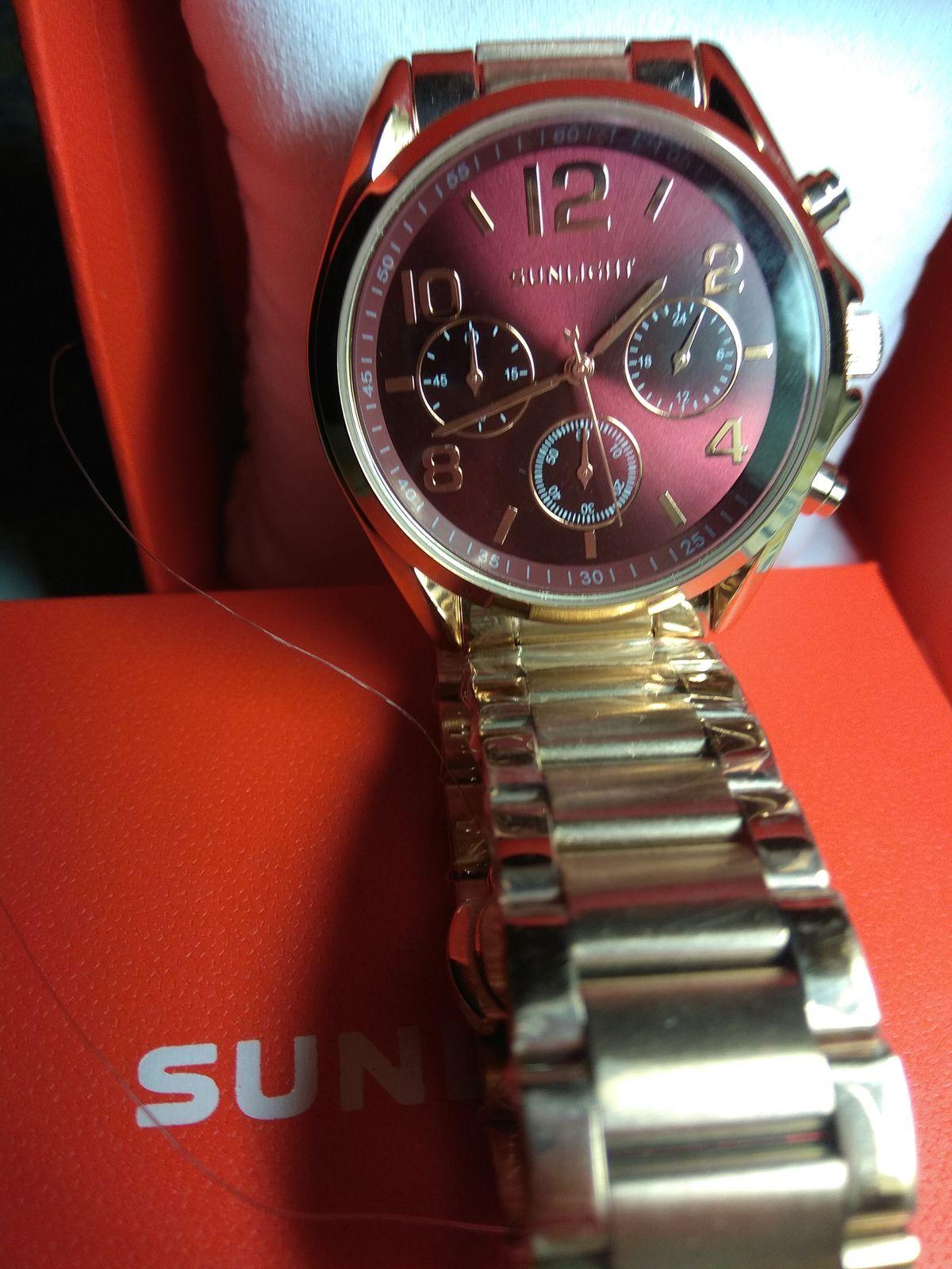 Часы со стальным браслетом