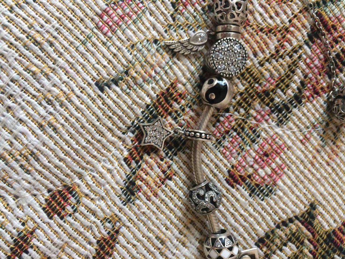 Звездочка моя любимая, очень красивая подвеска шарм