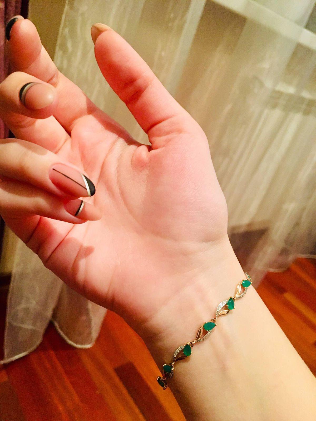 Нежный, изящный браслет!