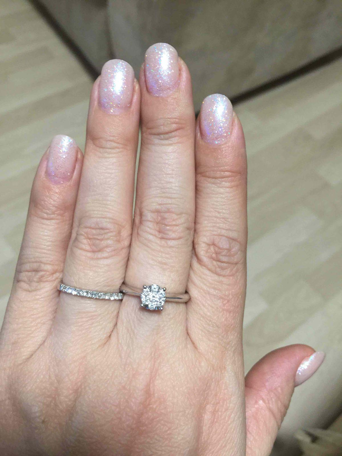 Дорожка с бриллиантами
