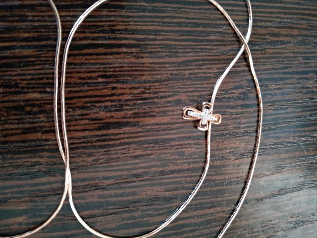 Крестик украшение