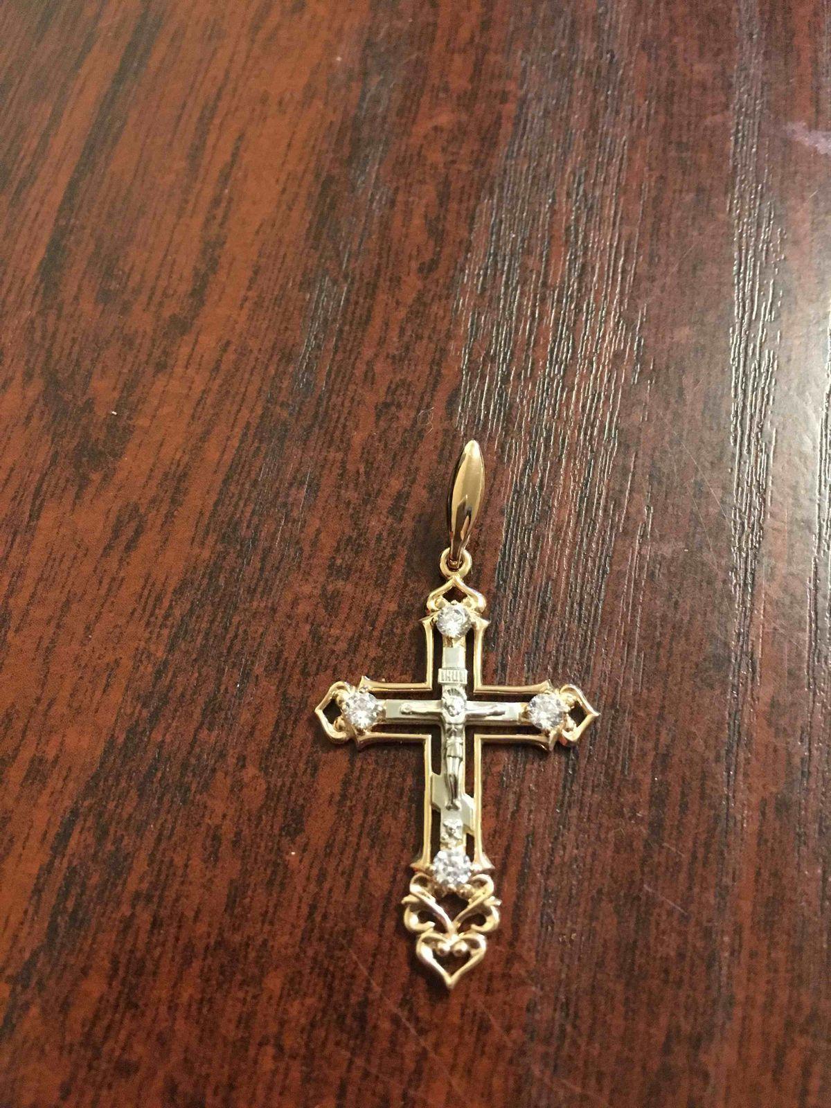 👌подвеска-крестик