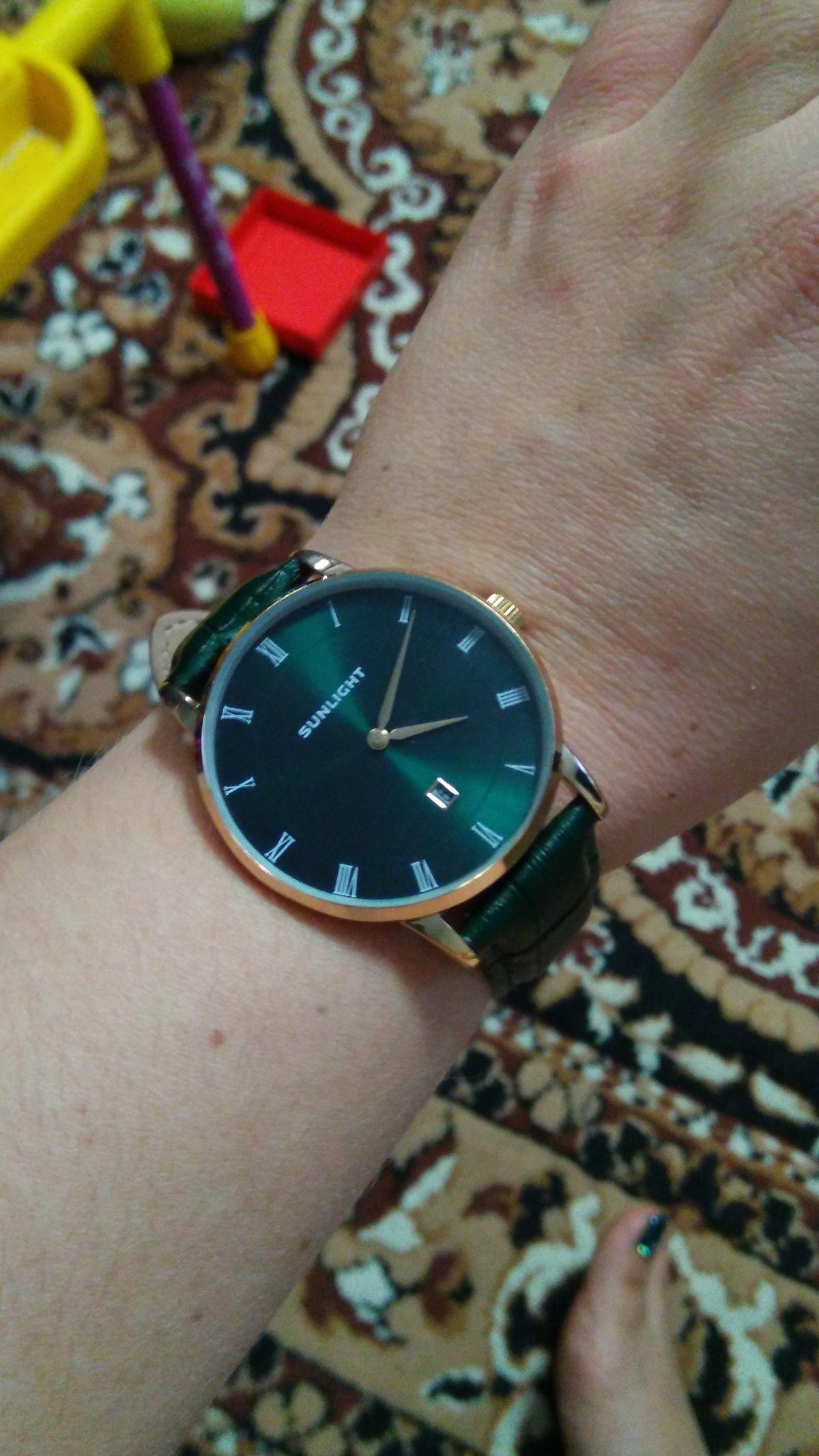 Часы такого цвета - моя мечта