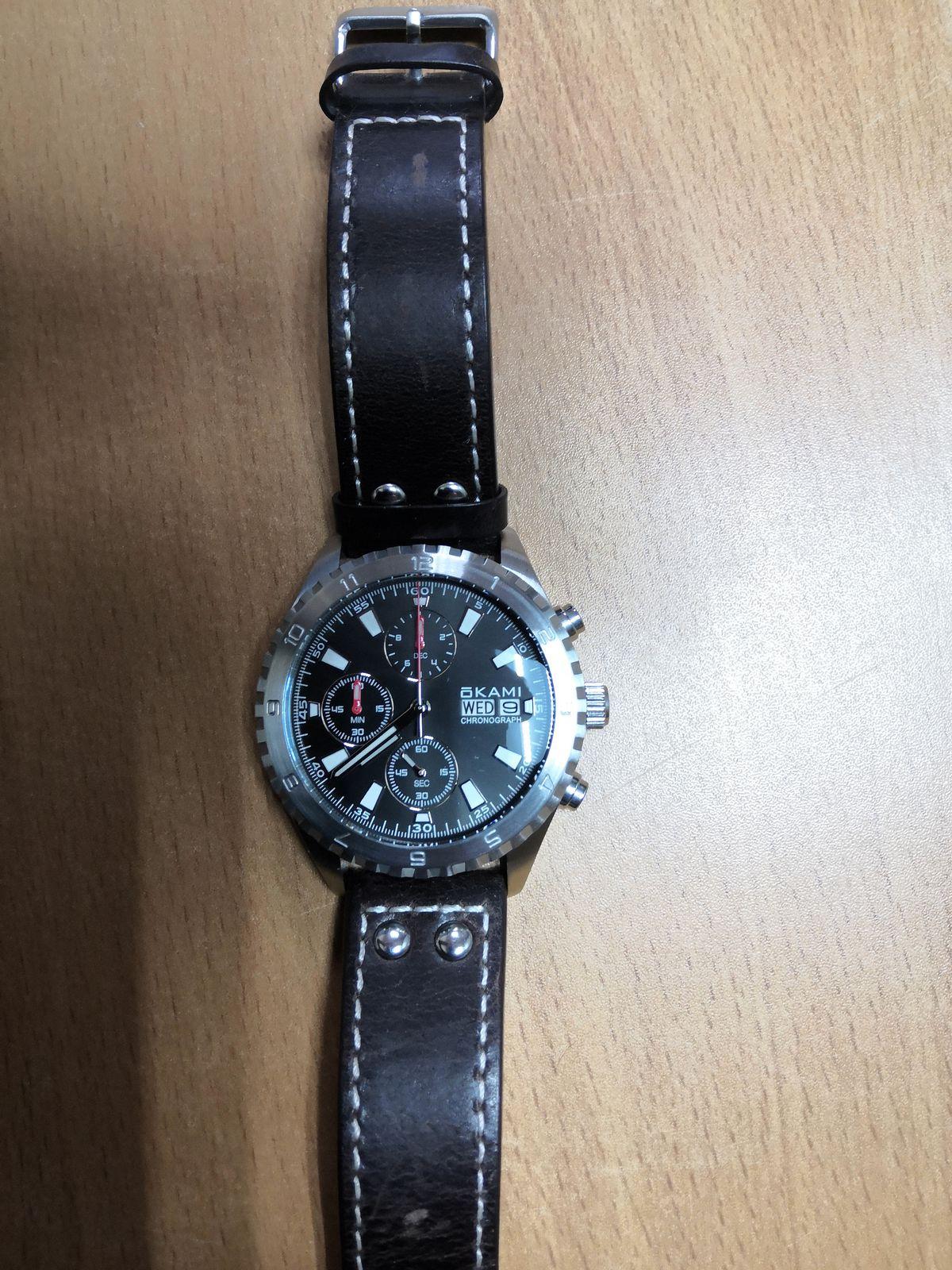 Красивые, стильные наручные часы!